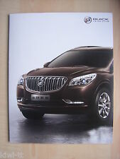 Buick Enclave Prospekt / Brochure / Depliant, China, ca. 2014