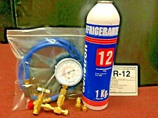 R12, Refrigerant 12, Virgin Pure R-12, 2.2 Lbs., 1 Kg. Genetron, Recharge Kit