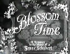 April Blossoms AKABlossom Time 1936  Richard Tauber,Jane Baxter  region free dvd