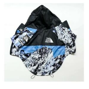 The Dog Face Windbreaker Blue Snow Coat Jacket Clothes Fashion Pupreme UK STOCK