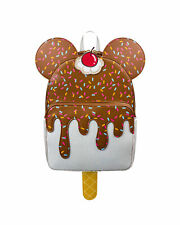 With Tags Danielle Nicole Mickey Mouse Chocolate Ice Cream Backpack