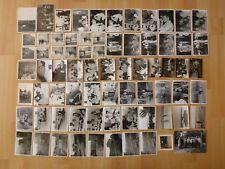 Konvolut Sammlung 73 x altes Foto alte Fotos Menschen Personen DDR Ausflug Feier