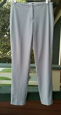 TAHARI Gray Flat Front Dress Slacks Pants size 4