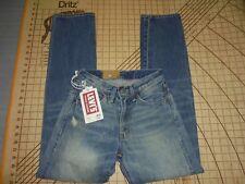 1954 LEVIS VINTAGE CLOTHING 501Z SIZE 26-32 BIG E SELVEDGE CONE DENIM JEANS -NWT