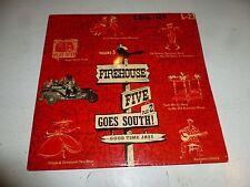 "FIREHOUSE FIVE PLUS 2 - Goes South - Rare UK 8-track 10"" Vinyl LP"