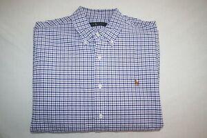 Ralph Lauren Long Sleeve Dress Shirt Men XL 17 NEW
