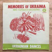 Mike Kupnicki's Orchestra Memories Of Ukrainia Vinyl LP Colonial COL-LP-202