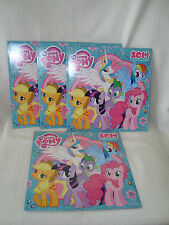 Lot of 4 My Little Pony 2014/12-Month Calendar NEW