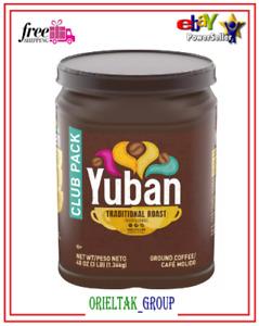 Yuban Ground Coffee, Traditional Roast (48 oz.)=free shipping=