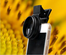 6 in1 Fisheye+Wide Angle+Macro Camera Clip Lens Kit For Cell iPhone 5 6 7 Mobile