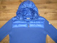 Authentic Mens Moncler Hoodie Jacket Jumper Sweater Size XL