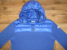 Authentic Giacca da uomo MONCLER Felpa Con Cappuccio Maglione Pullover Taglia XL