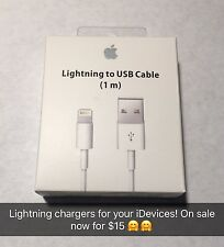1M OEM Authentic Apple Lightning USB Charger Data Cable for iPhone 7 Plus 6s 5s