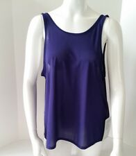 Lululemon Get Low Scoop Tank Size 10 Top Blue Empire NWT