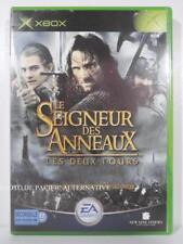 jeu LE SEIGNEUR DES ANNEAUX LES DEUX TOURS pour XBOX (first gen) en francais