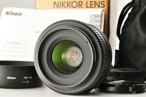 [Near Mint!!] Nikon DX AF-S NIKKOR 35mm 1.8G with Hood Auto Focus SLR From JAPAN