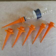 Set of 6 Plastic Plant Water Bottle Feeder Spikes