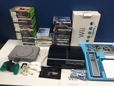 Large Mix LOT Video Games Xbox 360 Wii Playstation PS3 Consoles Systems Untested