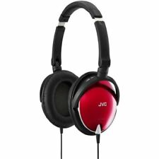New JVC Victor Head-band Portable Headphones | HA-S600-R Red Japan Import