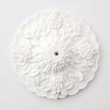 "Dollhouse Miniature Large Cast Resin Ceiling Rose Medallion 1:12 Scale 2 7/8"""