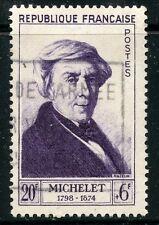 STAMP / TIMBRE FRANCE OBLITERE N° 949 / CELEBRITE / JULES MICHELET COTE 13,50 €