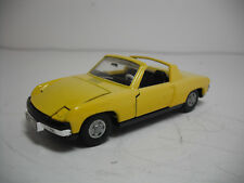 DINKY TOYS MECCANO #208-H VW PORSCHE 914 CABRIOLET NEAR MINT! MADE IN UK