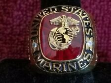 US Marine Corps Rings,Navy, Army,Air Force,National Guard Rings New Version !!