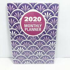 2020 Purple Designs Monthly Planner 67 X 93 Calendar Organizer
