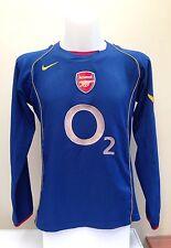 Arsenal Camisa De Fútbol Jersey Henry Manga Larga Ls medio M lejos Adulto 2004 2005