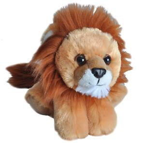 "HUG'EMS MINI LION PLUSH SOFT TOY 7"" STUFFED ANIMAL BY WILD REPUBLIC - BNWT"