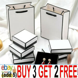 Jewelry Present White Box For Ring Necklace Bracelet Earrings Watch Small Gijh