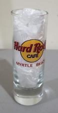 hard rock cafe myrtle beach shot glass