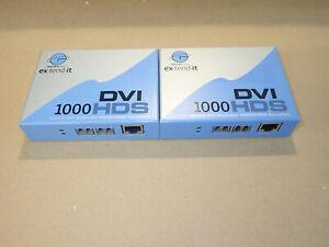 Gefen DVI 1000HD Extender Fibre Optic Cat5 1080p HD Signal 500m 1640 Feet