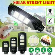 Waterproof Solar LED Wall Light Outdoor PIR WalkwaySensor Street Garden Lamp Led