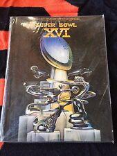 SUPERBOWL XVI 16  PROGRAM SAN FRANCISCO FORTY NINERS 49ERS 1982