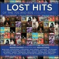 LOST HITS OF THE 70s AND 80s VOLUME THREE CD NEW Vol. 3 Brian Cadd Jon English