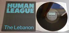"""Human League - The Lebanon UK 1984 Autographed Virgin 12"""" Single"""
