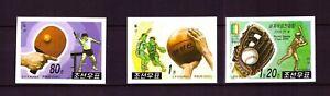 Korea Mi-Nr. 4365/7 - postfrisch, ungezähnt - mit Basketball, Baseball