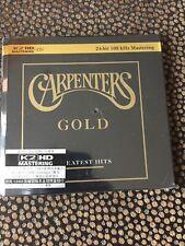 THE CARPENTERS - GOLD - K2 HD 24 BIT MASTERING CD ( NOT SACD ) NEW!