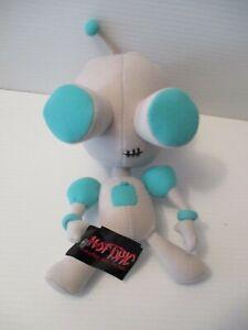 Invader Zim Robot GIR Stuffed Plush Hot Topic 2002 Nickelodeon VIACOM Rare MINT
