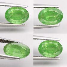 Grenat Tsavorite de Tanzanie, taille ovale /4,55 carats