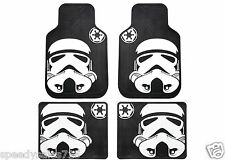 Plasticolor Star Wars Stormtrooper Front & Rear Floor Mat Set New Free Shipping