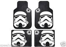Plasticolor Star Wars Stormtrooper Front & Rear Floor Mat Set New Free Shipping