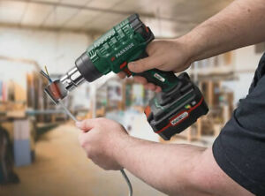 Parkside 20v Cordless Heat Hot Air Gun With Battery And Charger