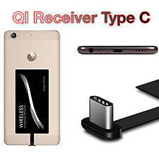 QI Wireless Charging Charger Receiver Adapter with USB Type C Type-C Connector