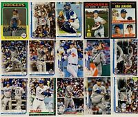 (15) 2019-2020 Topps LA Dodgers Baseball Card Lot Cody Bellinger Clayton Kershaw