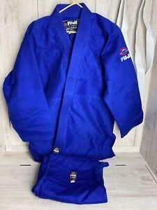 Fuji Kimono. Traditional High Quality. Color: Blue. Size 6. Adult Size
