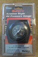 Sunpro Aviation Style Oil Pressure Gauge P8081