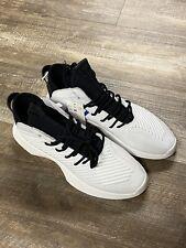 NEW Kobe Adidas Crazy 1 ADV Mens Basketball Shoes White/Black Leather Size 11