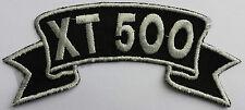 Patch ricamate n. 15 xt500, Biker ricamate patch Route 66 MOTO customusa